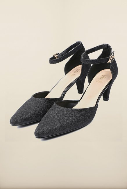Tresmode Beglit Black Sandals
