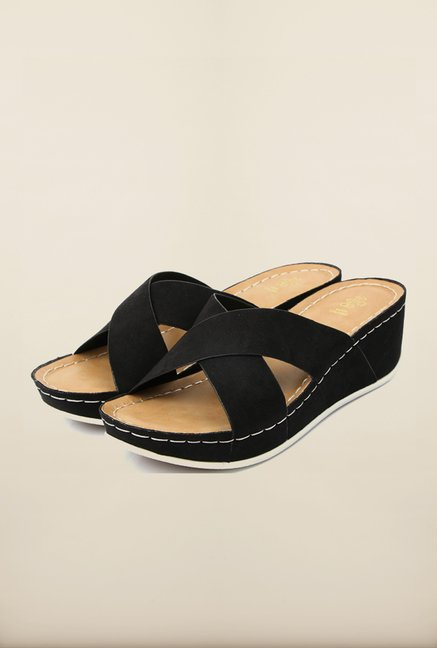 Tresmode Rewedge Black Wedges