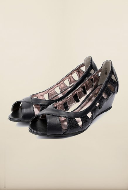 Tresmode Cedesign Black Wedges