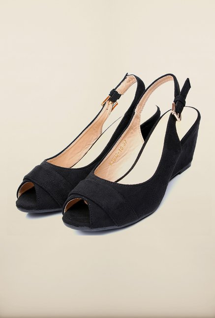 Tresmode Jowedge Black Wedges