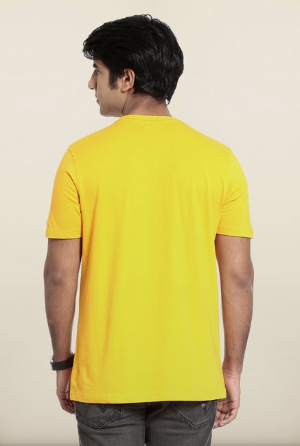 Seven Yellow Sports T-Shirt