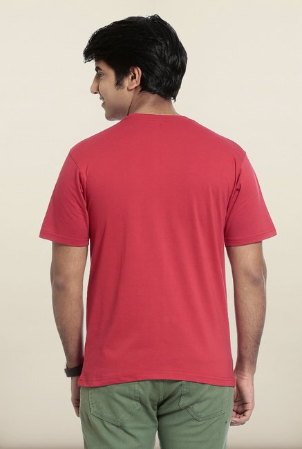 Seven Red Printed T-Shirt