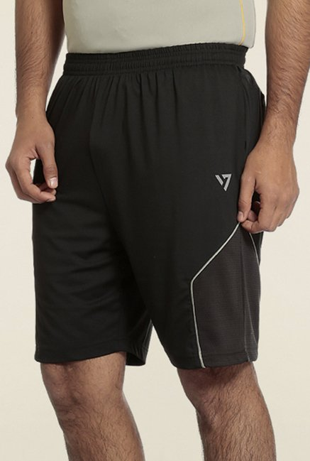 Seven Black Rector Sports Shorts