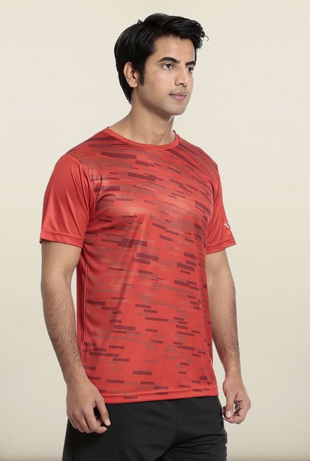 Seven Red Splash Printed T-Shirt