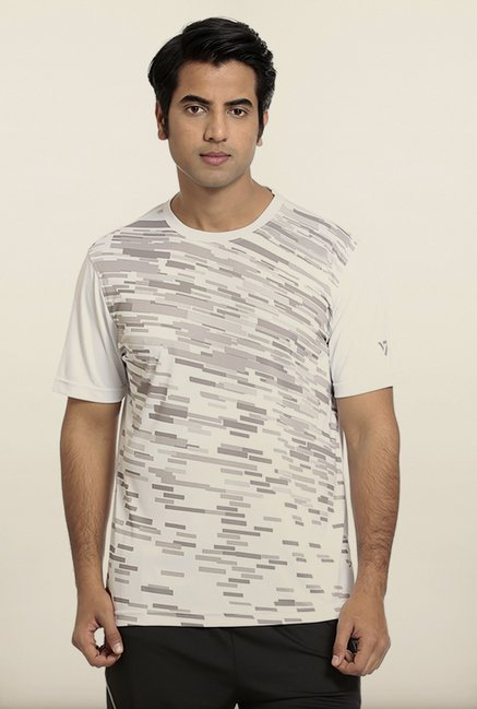 Seven White Splash Printed T-Shirt