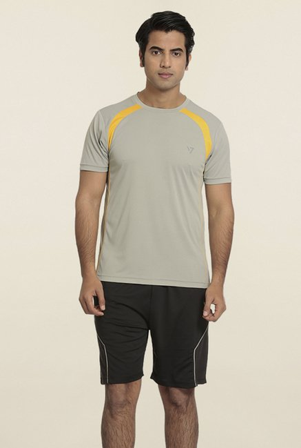 Seven Grey Solid T-Shirt