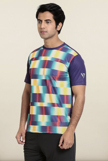 Seven Multicolor Printed T-Shirt
