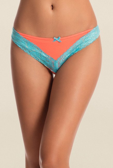 Pretty Secrets Multicolor Thongs (Pack of 2)