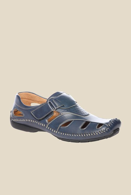 Pavers England Navy Fisherman Sandals