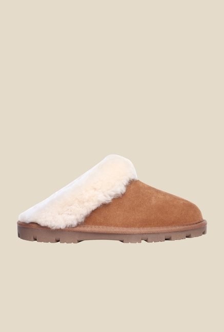 Pavers England Camel & White Mules