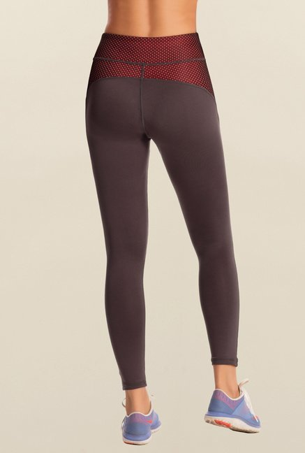 Pretty Secrets Charcoal Grey Workout Leggings