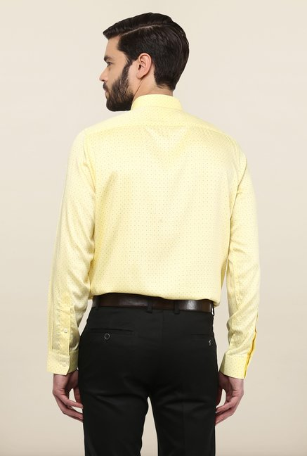 Turtle Yellow Printed Party Shirt