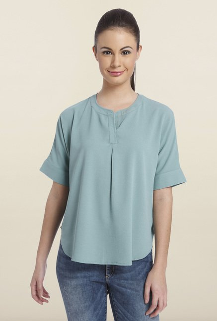 Only Oil Blue Solid Top