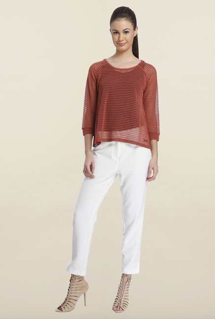 Only Marsala Solid Top