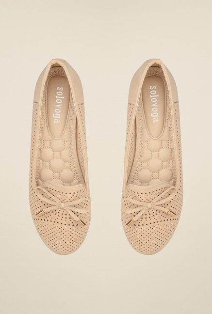 Solovoga Kaibill Beige Belly Shoes