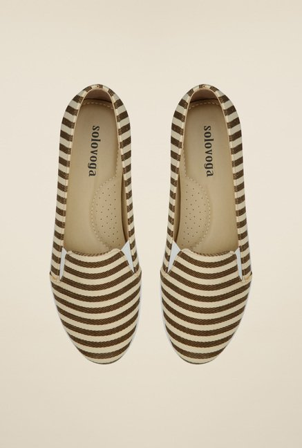 Solovoga Kvas Tan Flat Shoes