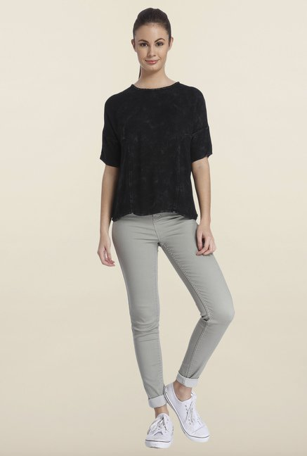 Only Black Regular Fit Cotton Top