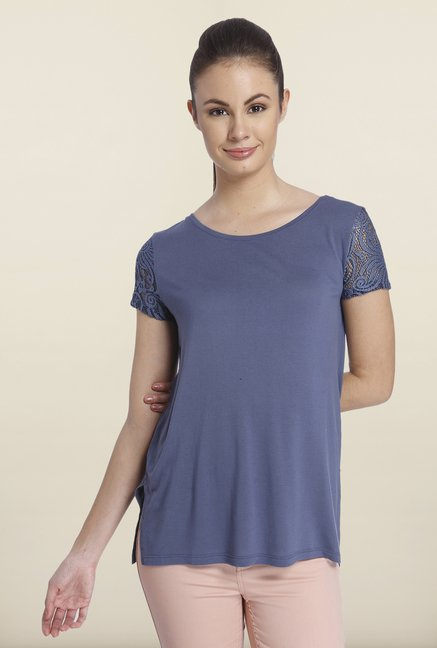 Only Indigo Solid Top