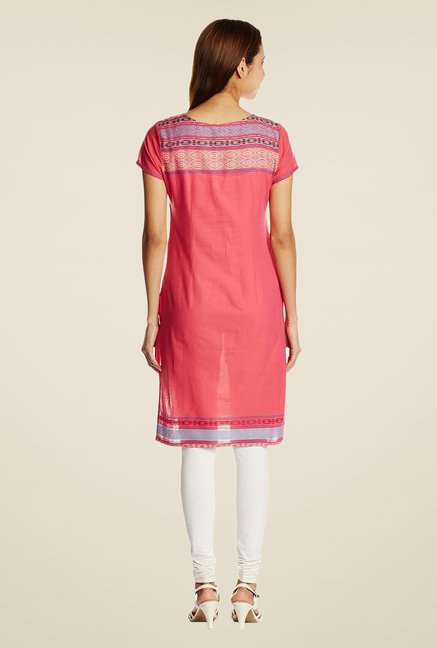 Aurelia Light Pink Printed Kurta