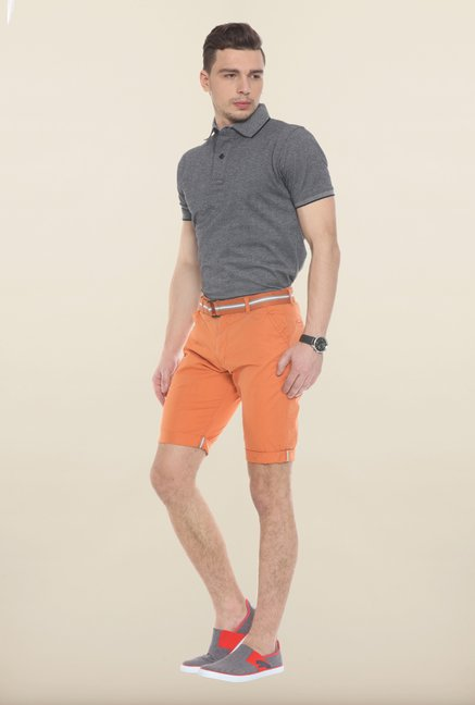 Sweet Dreams Orange Solid Jamaican Shorts