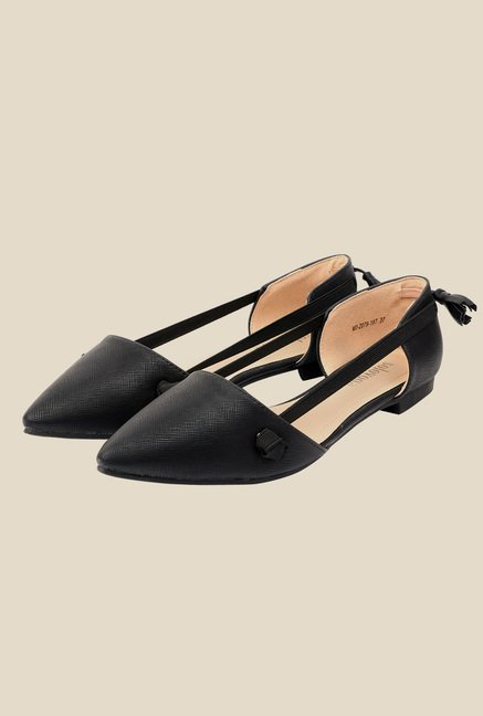 Solovoga Restretch Black Sandals