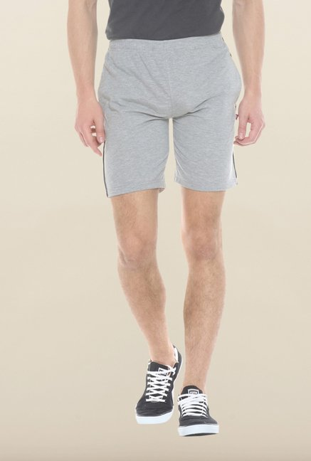 Sweet Dreams Grey Mid Rise Bermudas