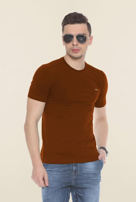 Sweet Dreams Brown Crew Neck T Shirt