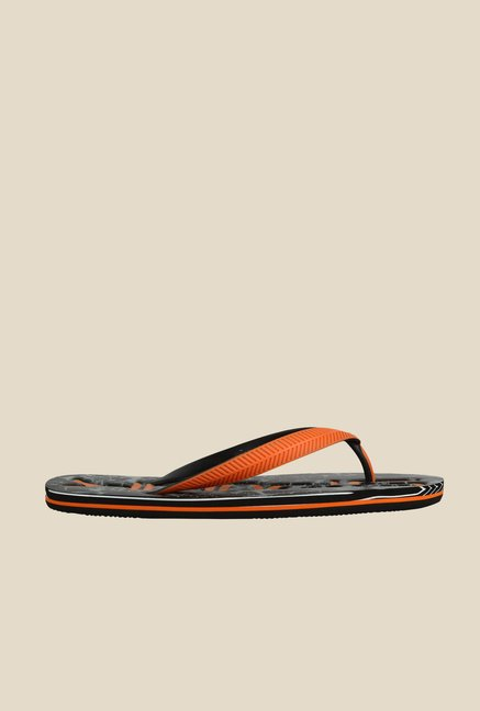 Spunk Marbel Orange & Grey Slippers