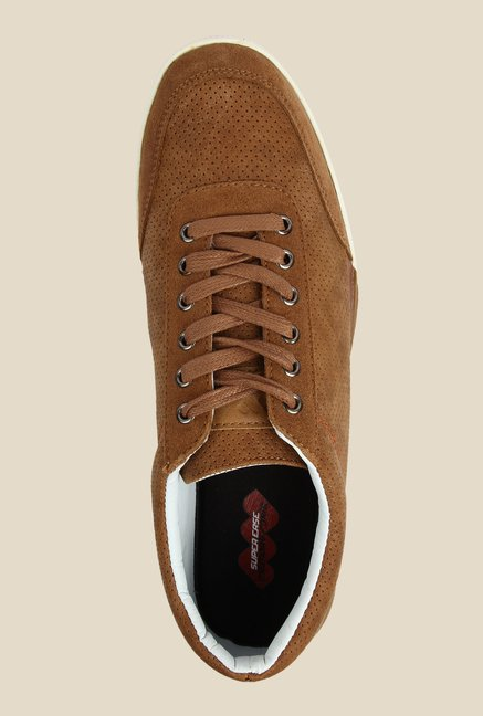 Spunk Gonzo Brown Casual Sneakers