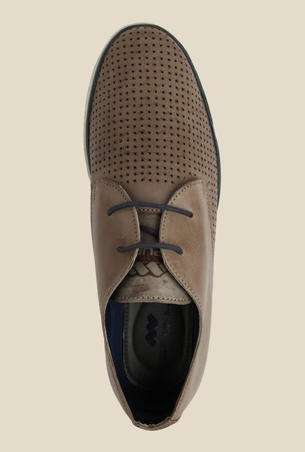 Spunk Crome Brown Derby Shoes
