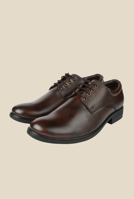 Spunk Zica Coffee Derby Shoes