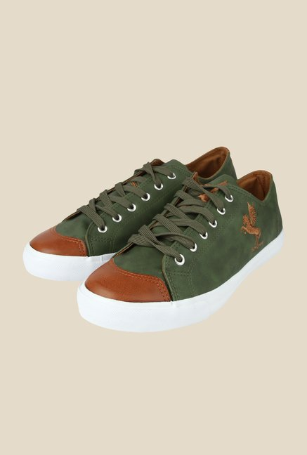Spunk Beetle Green Sneakers