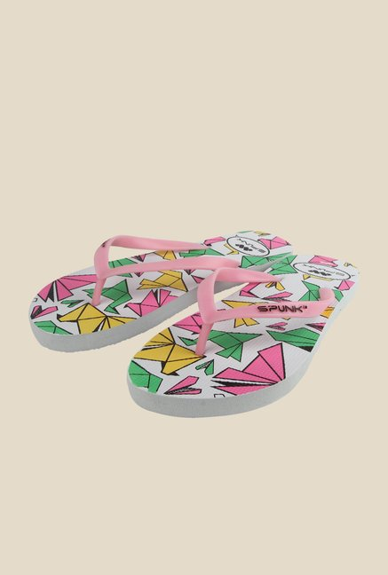 Spunk Craft Light Pink Flip Flops