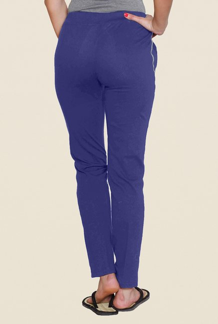 Sweet Dreams Navy Solid Track Pant