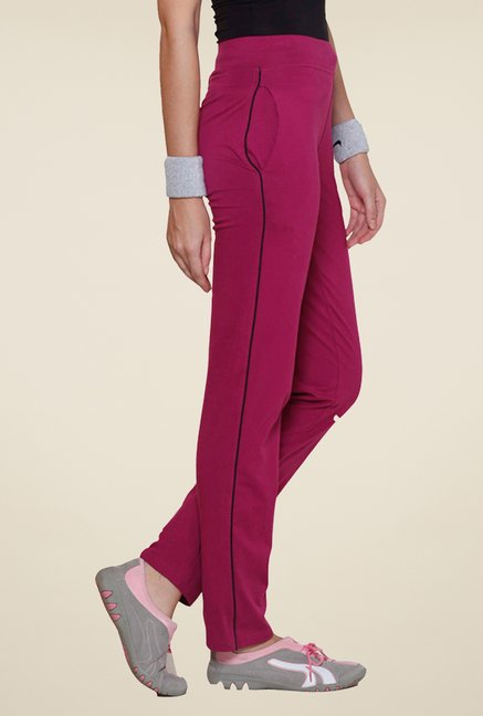 Sweet Dreams Purple Solid Track Pant