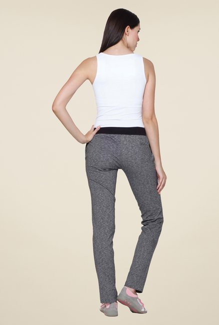 Sweet Dreams Grey Cotton Track Pant