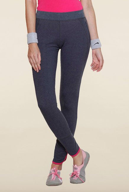 Sweet Dreams Charcoal Solid Track Pant