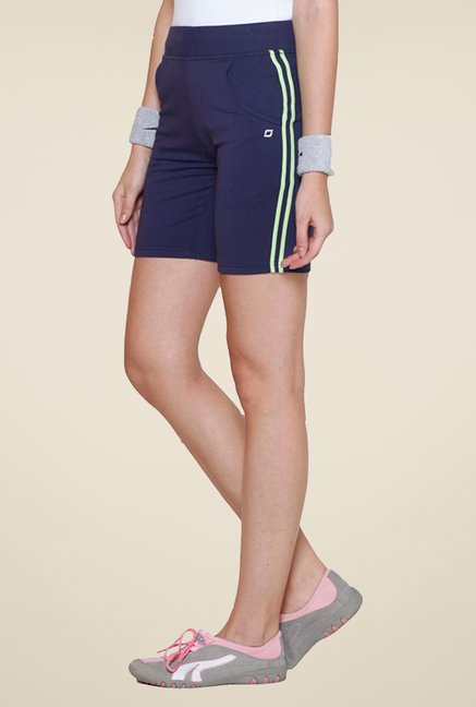 Sweet Dreams Navy Solid Shorts