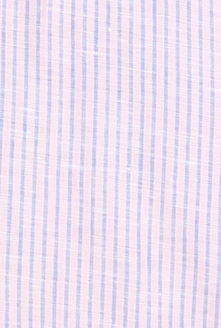 Raymond Purple & Blue Striped Shirt