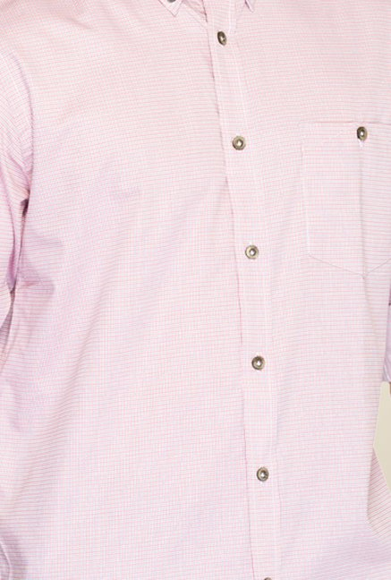 Raymond Pink Checks Shirt
