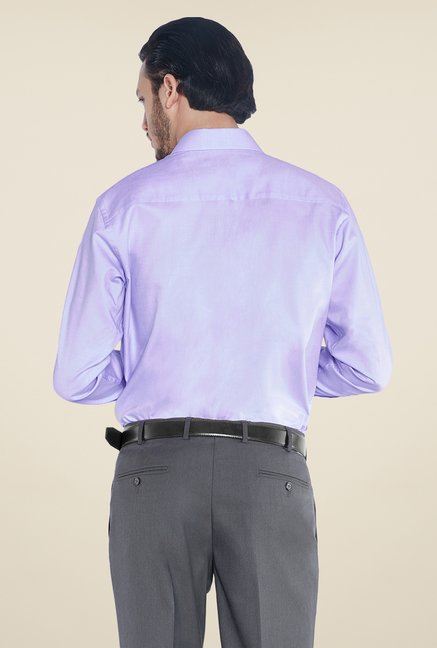 Raymond Light Blue Solid Shirt