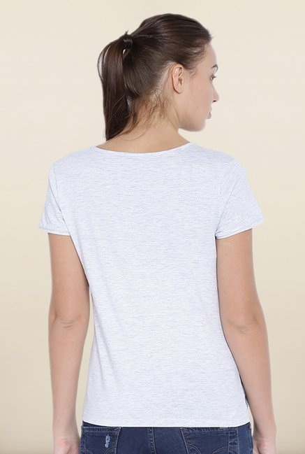 Kraus Grey Graphic Print Tee