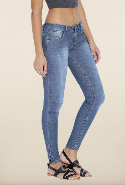 Kraus Blue Rinse Washed Jeans