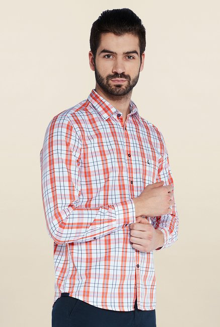 Parx Red & Blue Checks Shirt
