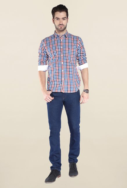 Parx Multicolor Checks Shirt