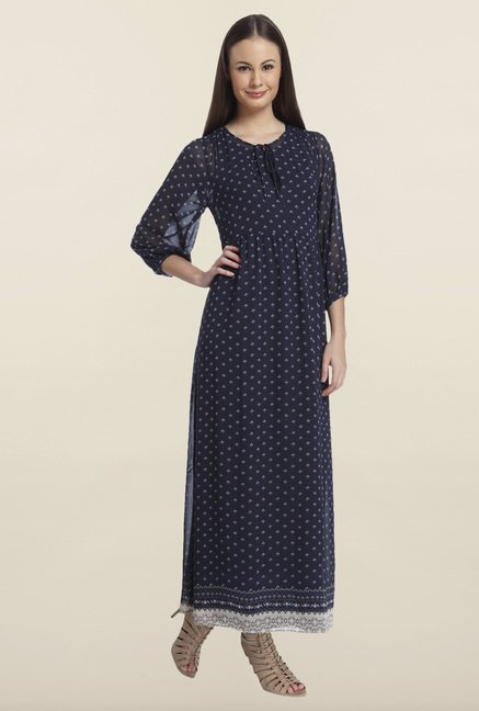 Only Night Sky Printed Maxi Dress