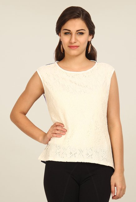 Avirate Cream Solid Top