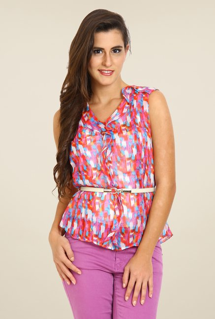 Avirate Multicolor Printed Top