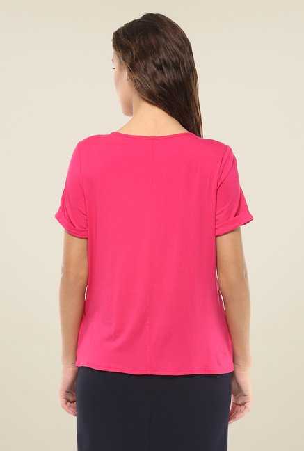 Avirate Pink Solid Top