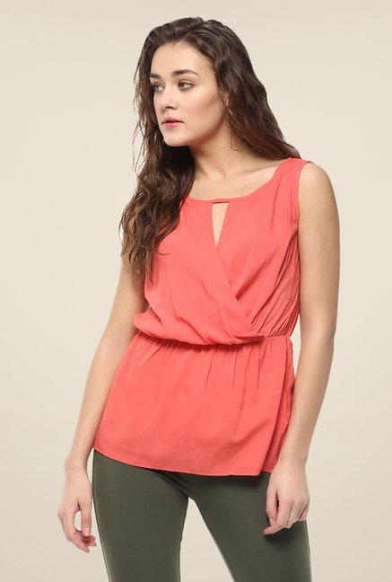 Avirate Coral Solid Top